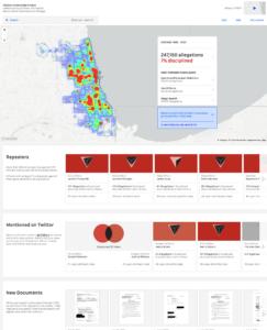 Invisible Institute data visualization